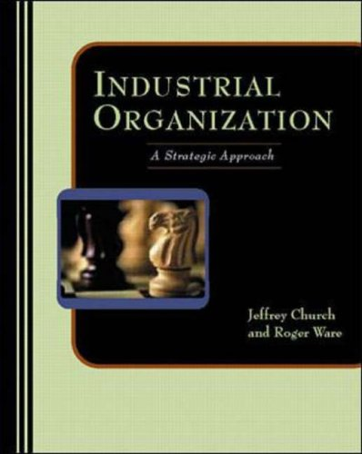 9780071166454: Industrial Organization: A Strategic Approach (Management & Organizations)
