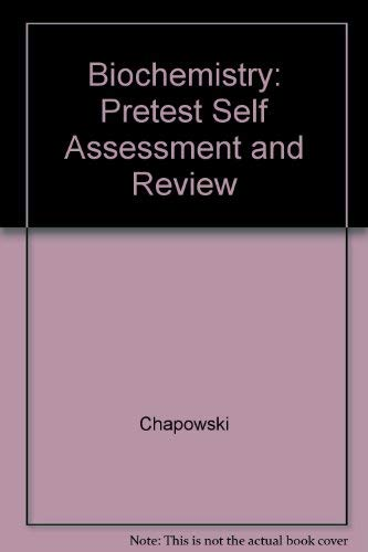 9780071166904: Biochemistry: Pretest Self Assessment and Review