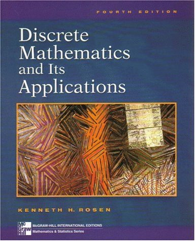 9780071167567: Discrete Mathematics and Its Applications