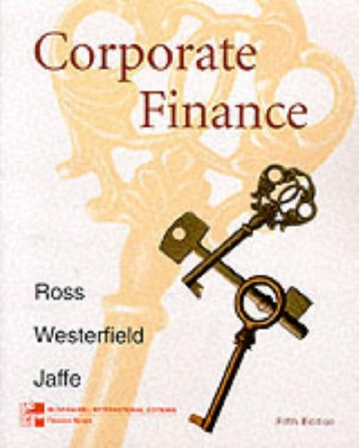 corporate finance by ross westerfield and jaffe pdf