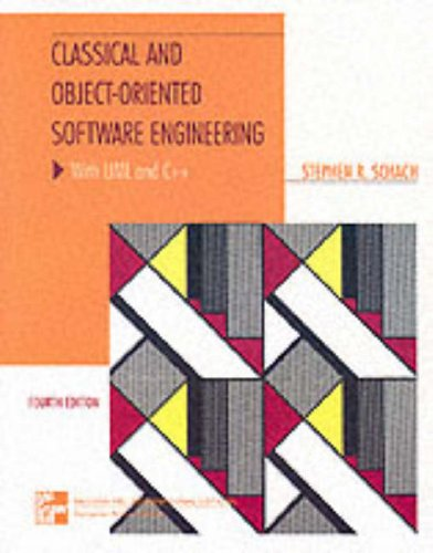 9780071167611: Classical and Object-oriented Software Engineering: WITH UML AND C++ (McGraw-Hill International Editions: Computer Science Series)