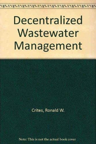 9780071167840: Decentralized Wastewater Management