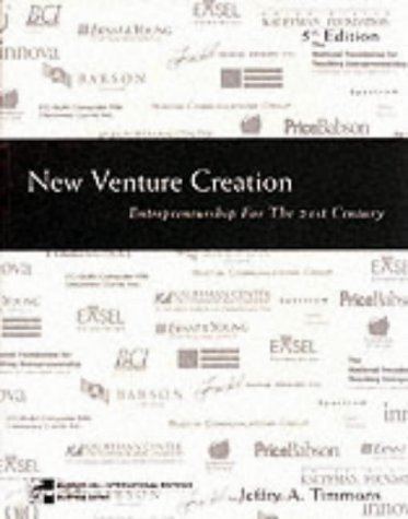 9780071167901: New Venture Creation: Entrepreneurship for the 21st Century (McGraw-Hill International Editions)