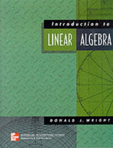 9780071168496: Introduction to Linear Algebra (McGraw-Hill International Editions)