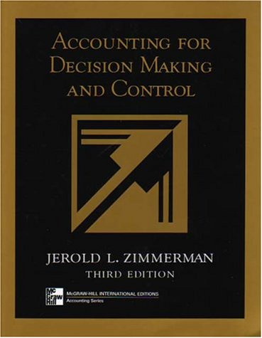 9780071169127: Accounting for Decision Making and Control