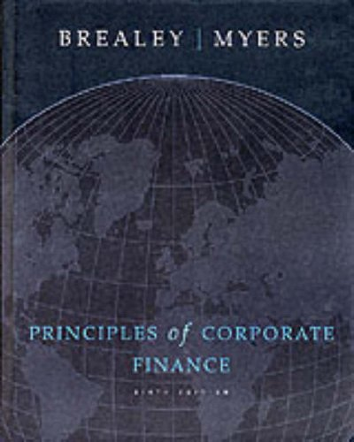 9780071169370: Principles Of Corporate Finance: Student Study Guide