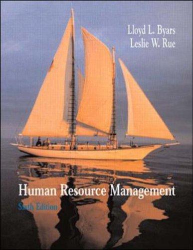 9780071169387: Human Resource Management