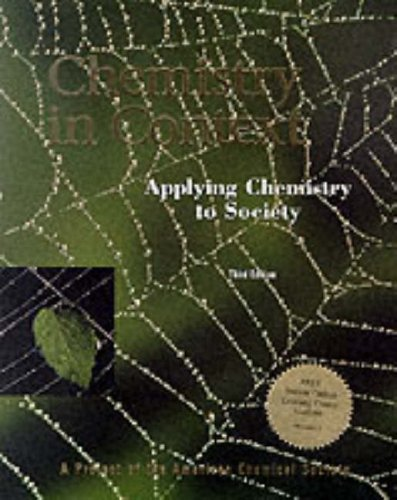 9780071169523: Chemistry in Context: Applying Chemistry to Society