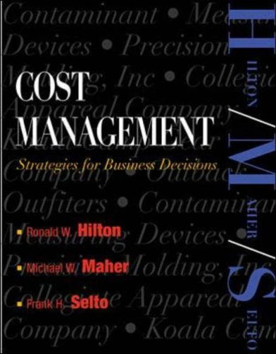 9780071169578: Cost Management: Strategies for Business Decisions