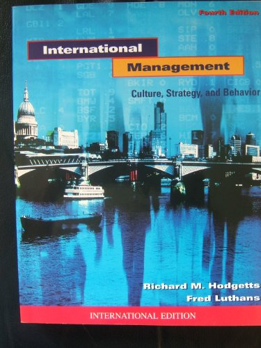 9780071169585: International Management