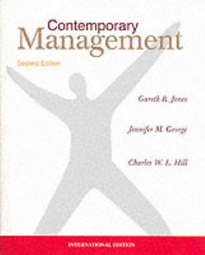 9780071169622: Contemporary Management