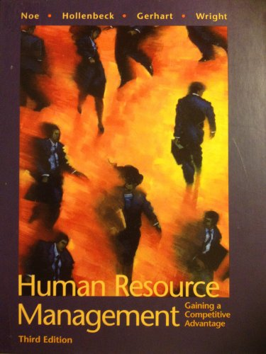 9780071169721: Human Resource Management (McGraw-Hill International Editions)