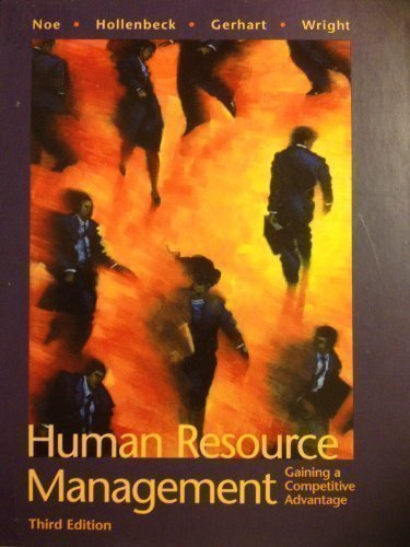 9780071169721: Human Resource Management (McGraw-Hill International Editions)