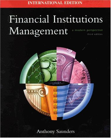 9780071169851: Financial Institutions Management: A Modern Perspective