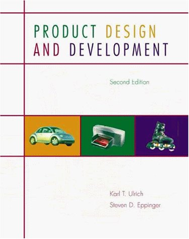 9780071169936: Product Design and Development, 2nd ed.