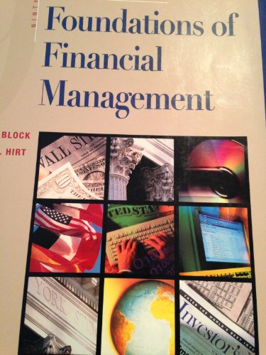 9780071174398: Foundations of Financial Management