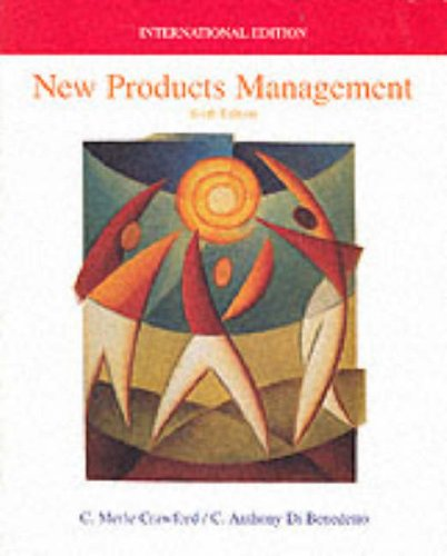 9780071175166: New Products Management (The Irwin/McGraw-Hill Series in Marketing)