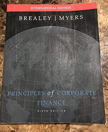 9780071179010: Principles of Corporate Finance