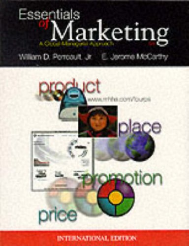 9780071179089: The Essentials of Marketing: A Global Managerial Approach (The Irwin/McGraw-Hill series in marketing)