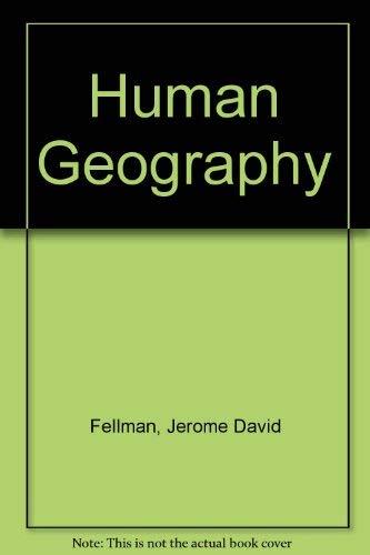 9780071179140: Human Geography
