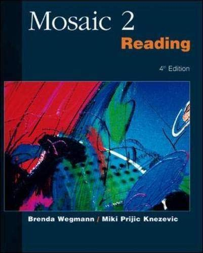 9780071180191: Mosaic Two: Reading