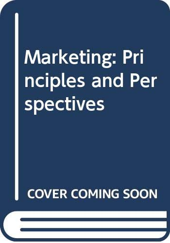 9780071180252: Marketing: Principles and Perspectives