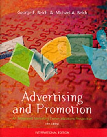 9780071180269: Advertising and Promotion: An Integrated Marketing-Communications Approach (The McGraw-Hill/Irwin series in marketing)