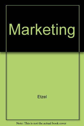 Marketing: Michael Etzel
