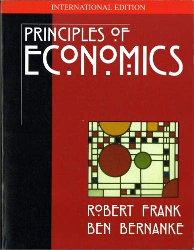 9780071180351: Principle of Economics