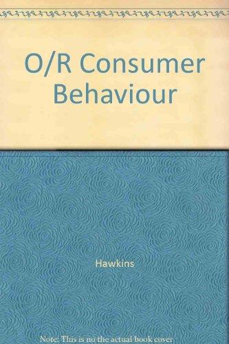 9780071180399: O/R Consumer Behaviour