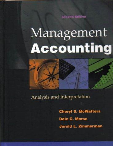 9780071180566: Management Accounting: Analysis and Interpretation