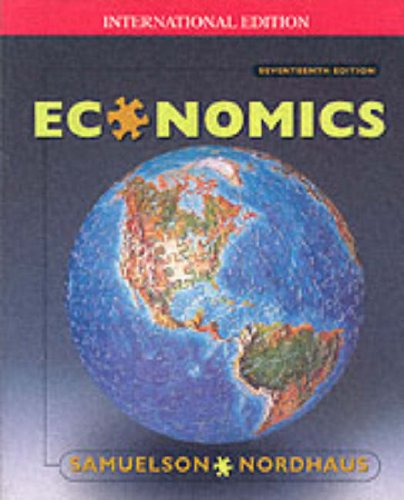 9780071180641: Economics (McGraw-Hill International Editions)