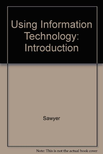 9780071180672: Using Information Technology: Introduction