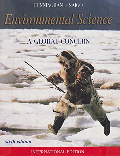 9780071180726: Environmental Science: a Global Concern, By Cunningham, 6th Edition