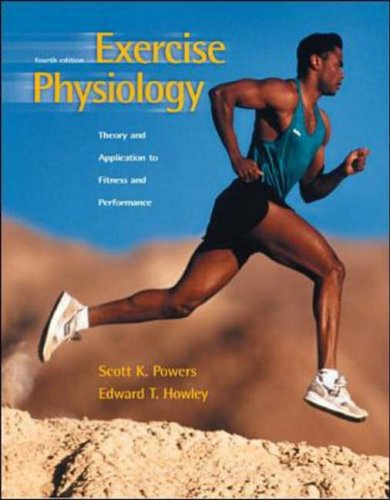 9780071180856: Exercise Physiology: Theory and Application to Fitness and Performance