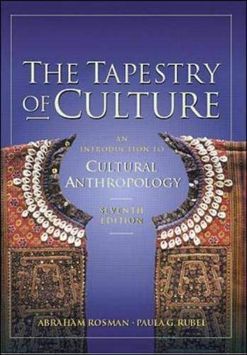 9780071180979: The Tapestry of Culture