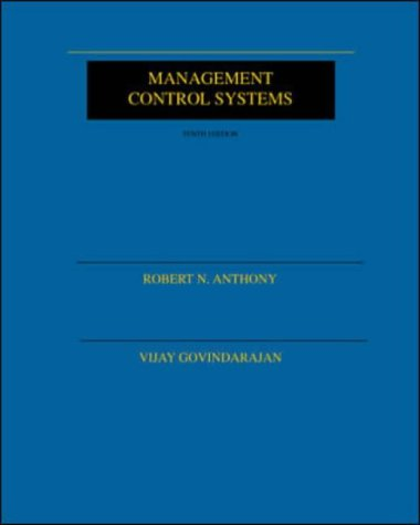 Management Control Systems (Fifth Edition): Anthony, R N