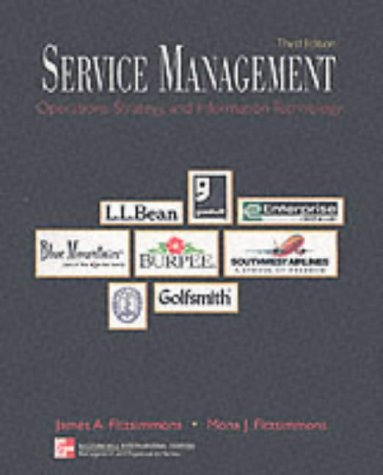 9780071181150: Service Management: Operations, Strategy, and Information Technology: With Student CD-Rom Mandatory Package (McGraw-Hill International Editions: Management & Organization Series)