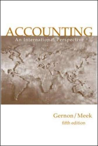 Accounting: International Perspective