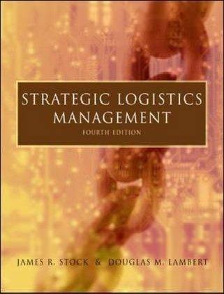 Strategic Logistics Management: Stock, James R.,