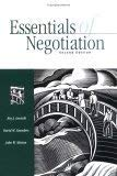 Essentials of Negotiation (McGraw-Hill International Editions: Management & Organization Series...
