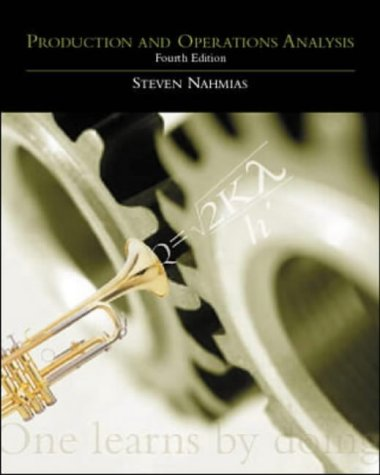 Production and Operations Analysis: With Student CD: Steven Nahmias