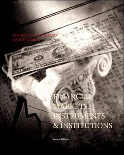 9780071181327: Financial Markets, Instruments and Institutions