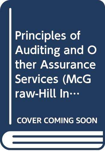 9780071181426: Principles of Auditing and Other Assurance Services (McGraw-Hill International Editions: Accounting Series)