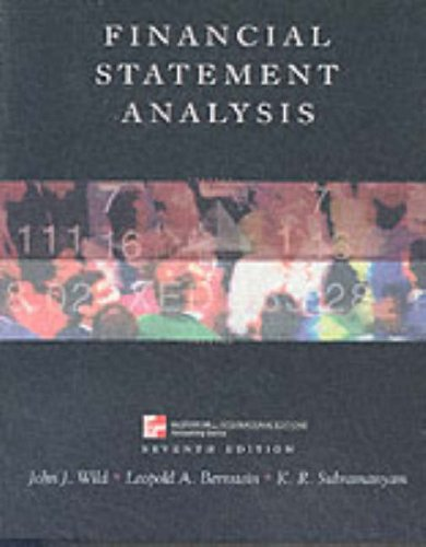 9780071181433: Financial Statement Analysis