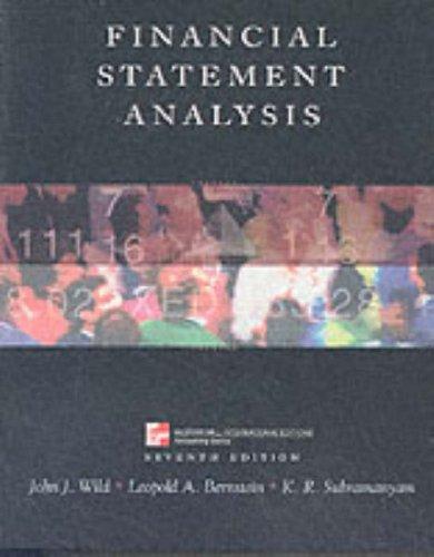 9780071181433: Financial Statement Analysis