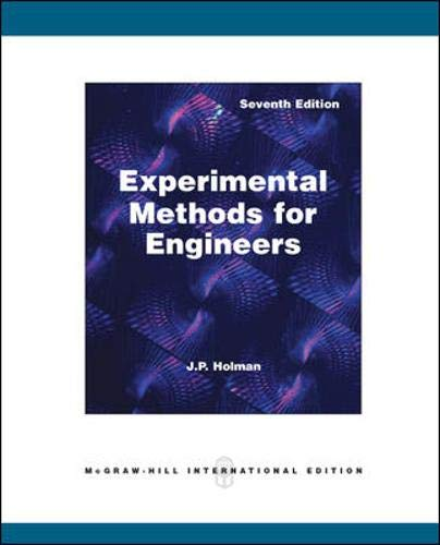 9780071181655: Experimental Methods for Engineers (McGraw-Hill Mechanical Engineering)