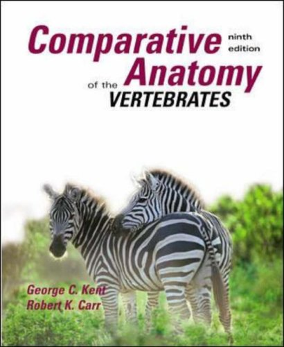 9780071181686: Comparative Anatomy of the Vertebrates