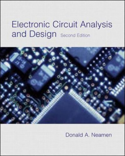 9780071181761: Electronic Circuit Analysis and Design - AbeBooks ...