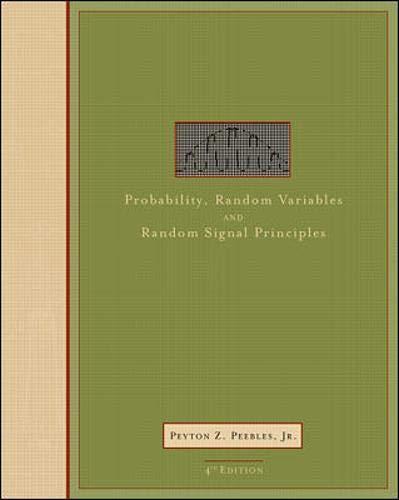 9780071181815: Probability, Random Variables, and Random Signal Principles